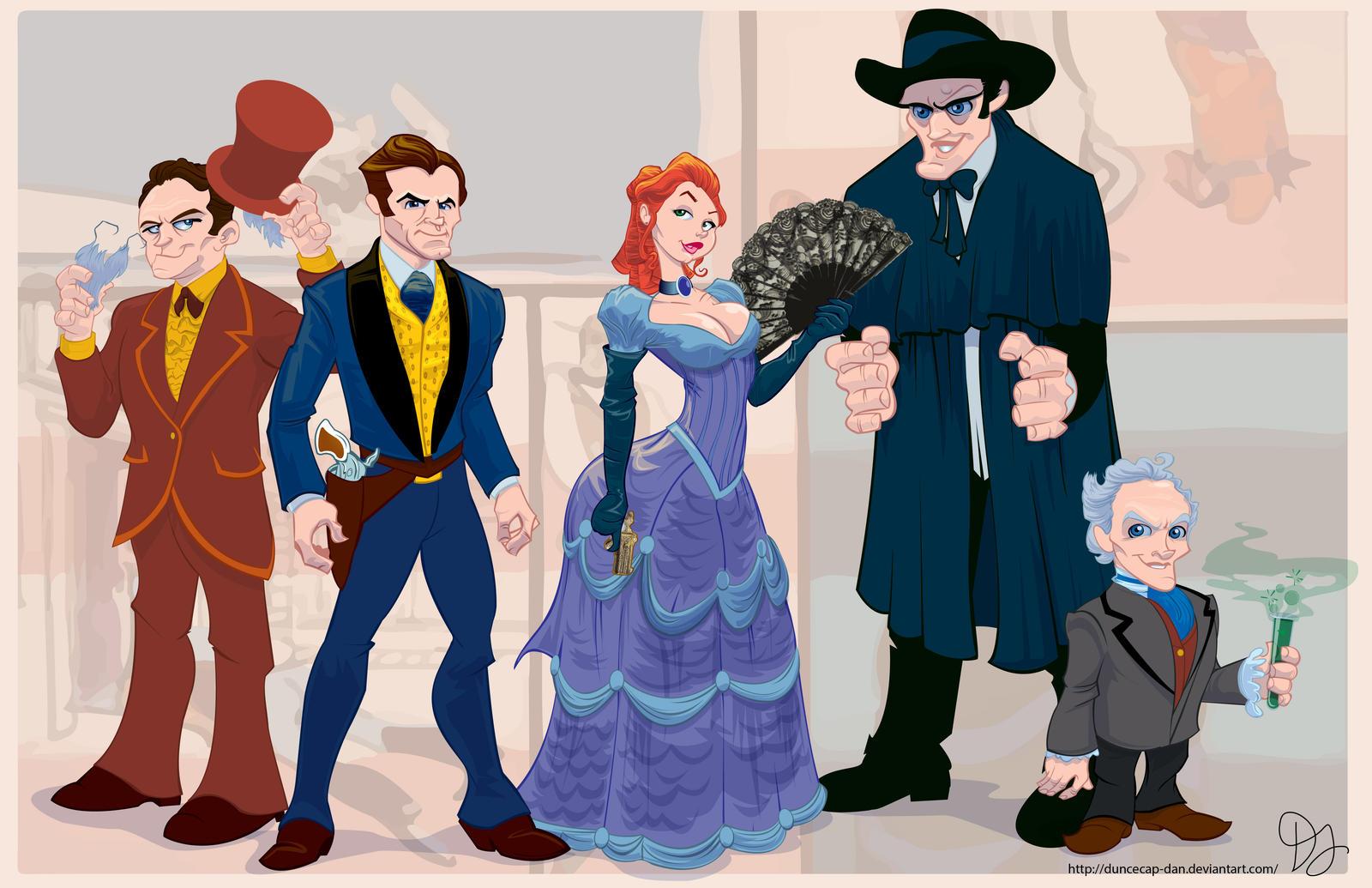 Wild Wild West Animated By Duncecap Dan On Deviantart