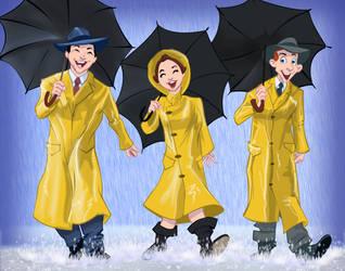 Singin' Rain by Duncecap-Dan