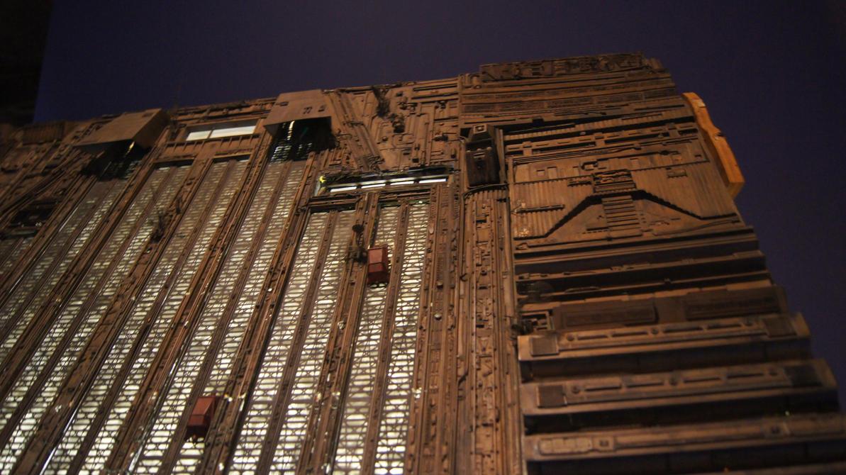 Tyrell Skyscraper - Blade Runner by BluePhoenix-Ra