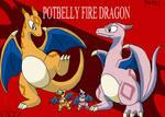 Potbelly Fire Dragon
