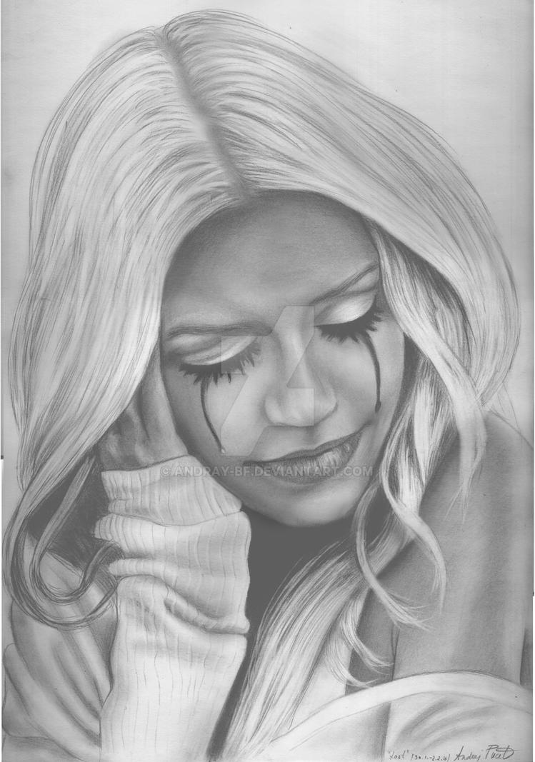 Christina Aguilera -Lost- Artwork by AndRay-BF