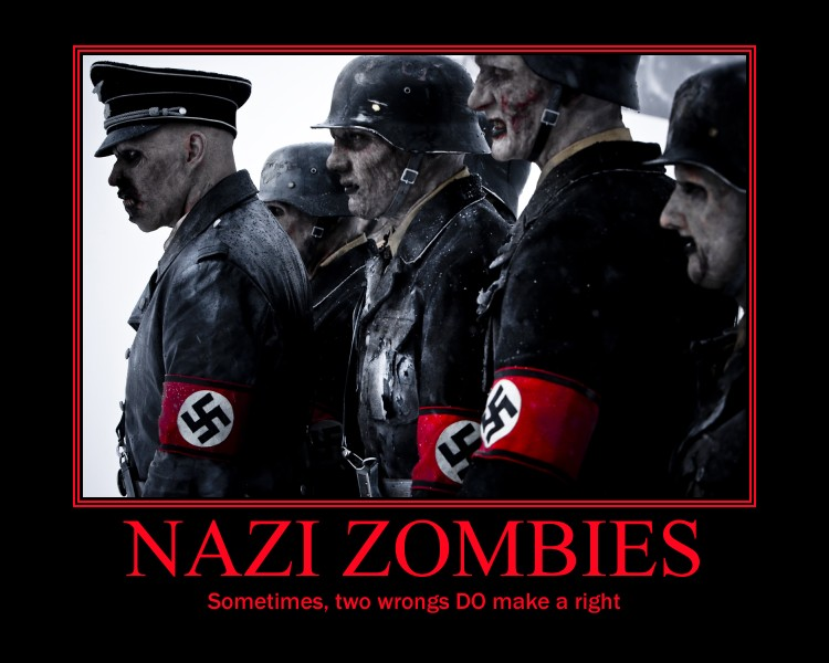 Nazi Zombies by 5aq