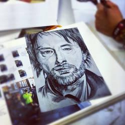 Thom Yorke - Radiohead by PLUG3D