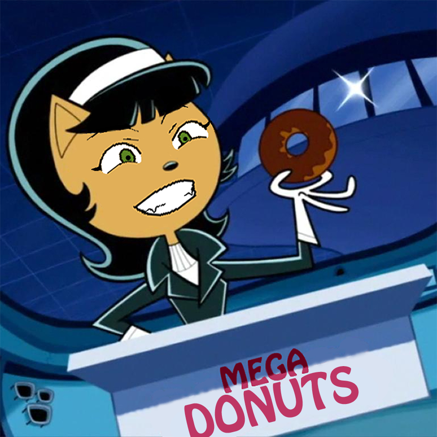 Mega Donuts Kitty by GojiBob