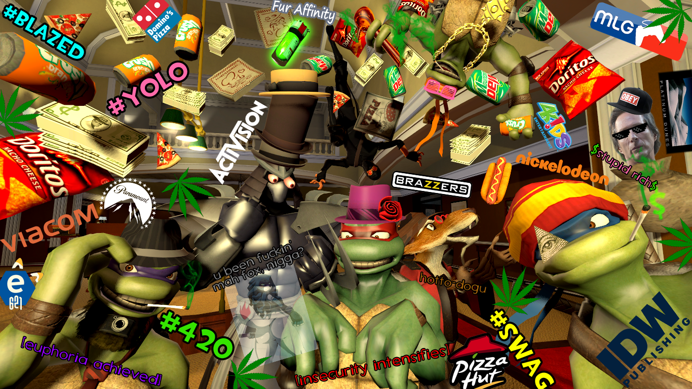 MLGT: Major League Gaming Turtles by GojiBob
