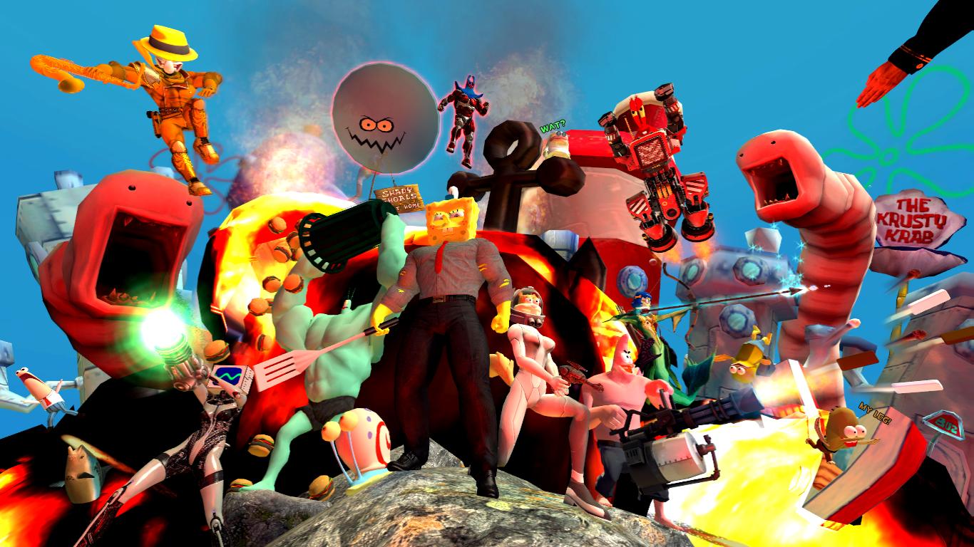 SpongeBob SquarePants: War for Bikini Bottom by GojiBob