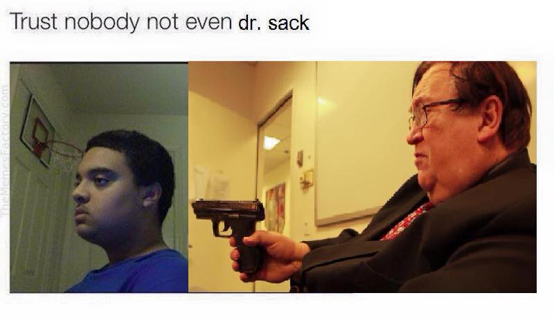 Don't Trust Dr. Sack by GojiBob