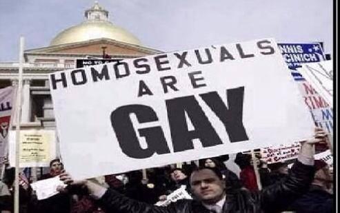 Homosexuals Are Gay by GojiBob