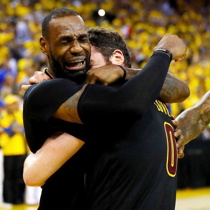 Crying LeBron James by GojiBob