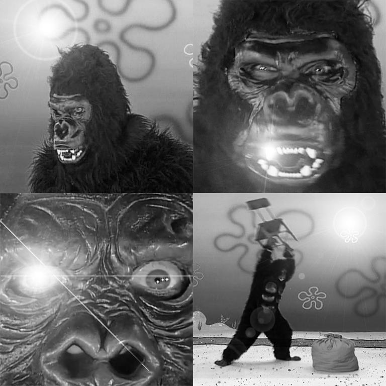 SpongeBob Gorilla - Harambe by GojiBob