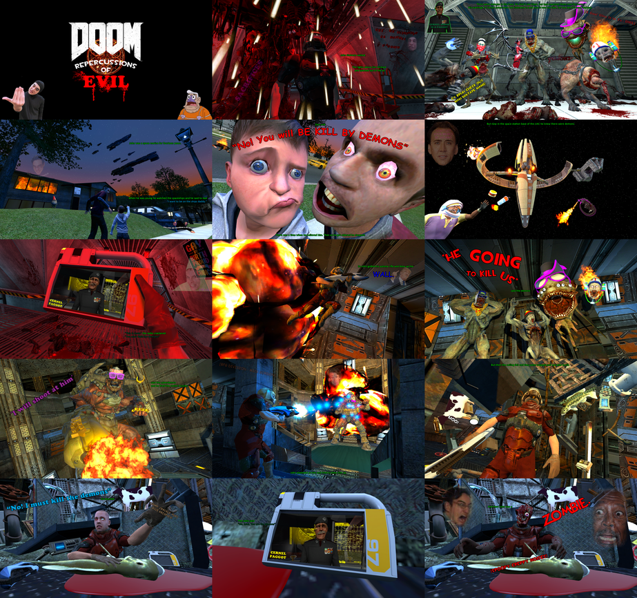 DOOM: Repercussions of Evil by GojiBob