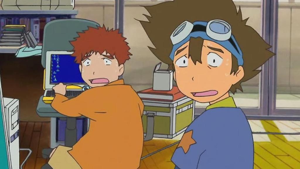 Digimon The Movie Tai and Izzy by GojiBob