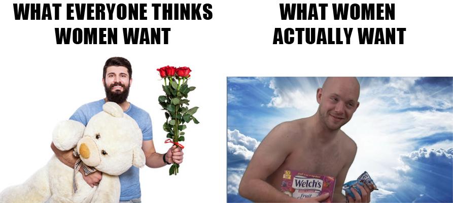 Flowers vs Fruit Snacks by GojiBob