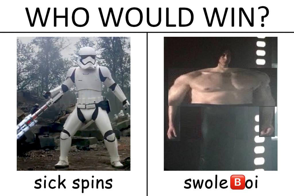 TR-8R vs Ben Swolo by GojiBob