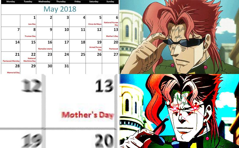 Kakyoin Mother's Day by GojiBob