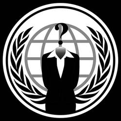 Anonymous Logo Woman PNG