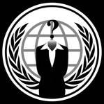Anonymous Logo Woman PNG