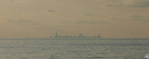 Chicago Skyline by tashville
