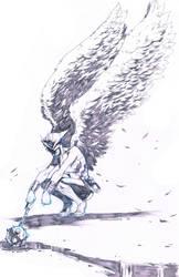 Hawkgirl by denart