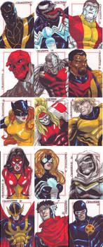 Marvel Sketch Cards