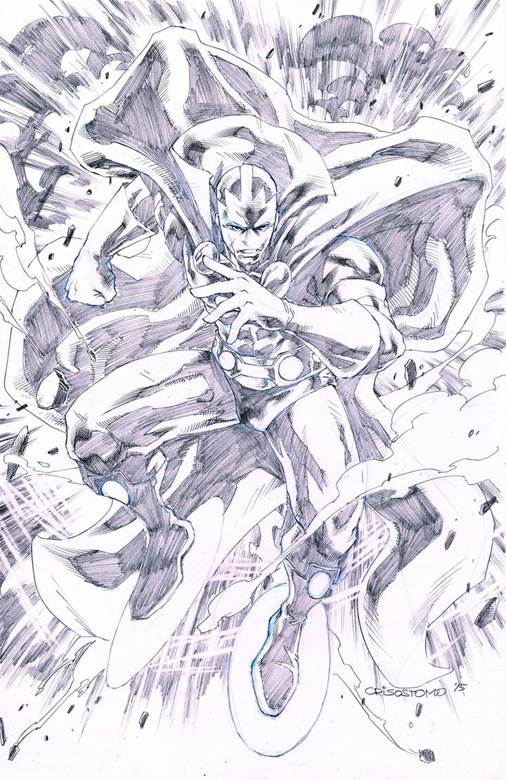 Mister Miracle by denart