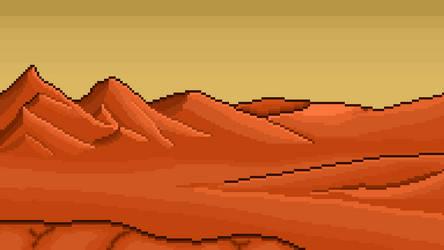 Red Planet Dreams by AncientOnyxDragon
