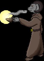 Eshray with a Lamp by AncientOnyxDragon