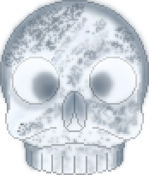 Crystal Skull by AncientOnyxDragon