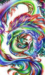 Decadia Gift: Rainbow Dragon