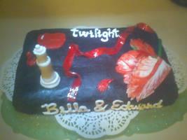 Twilight Cake by 13vampireangel