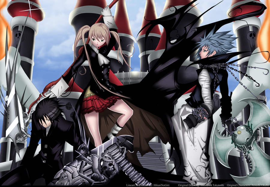 Soul Eater 102 Kishin By Hikarinogiri On Deviantart