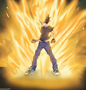 Tsuna Full Power!!