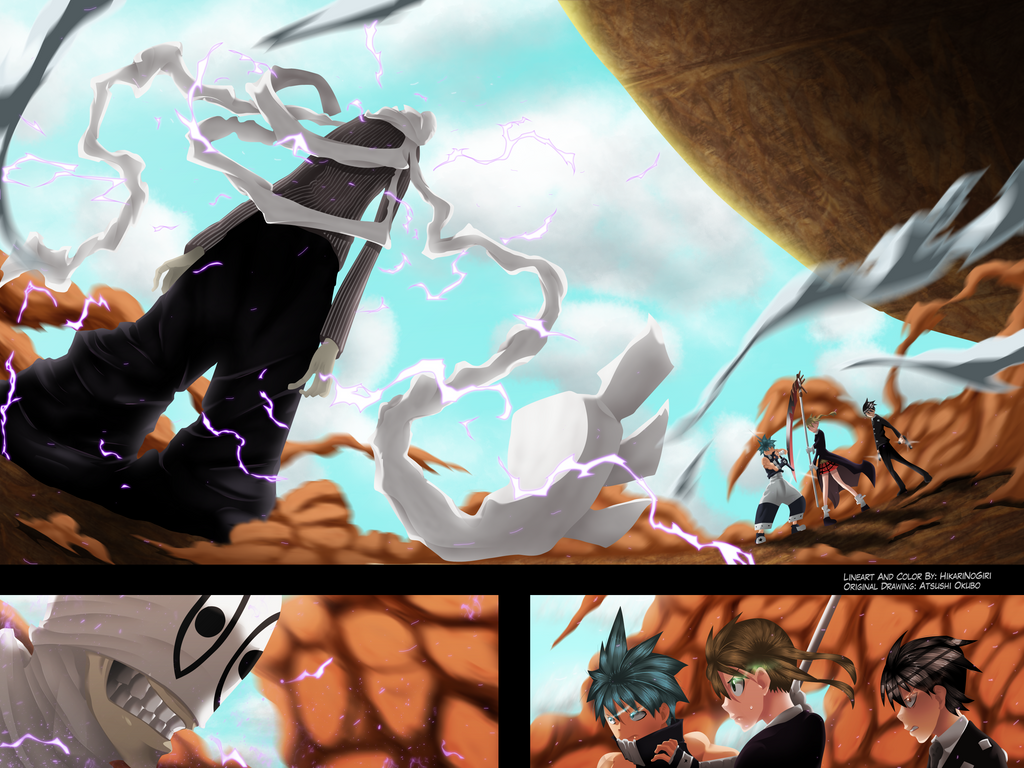 Soul Eater 108 - Fight To The Death by HikariNoGiri