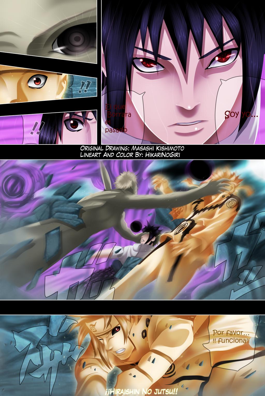 Naruto 639 - Obito The Destroyer by HikariNoGiri