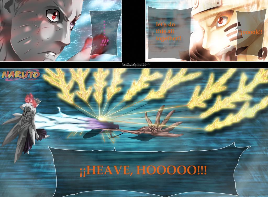 Naruto 652 - Tireeeeen!!!! by HikariNoGiri