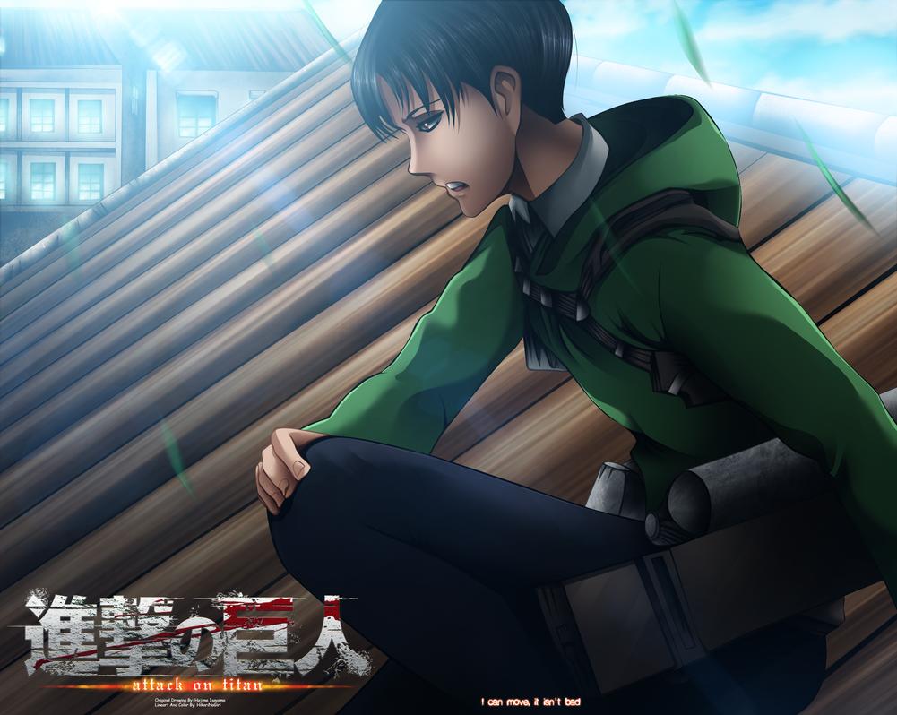 Shingeky No Kyojin 53 - Levi  Rivaille by HikariNoGiri