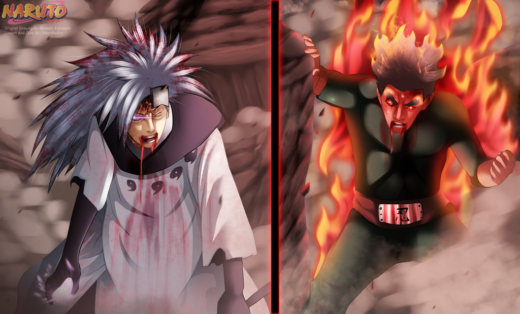 Naruto 671 Madara Vs Gai By Hikarinogiri On Deviantart