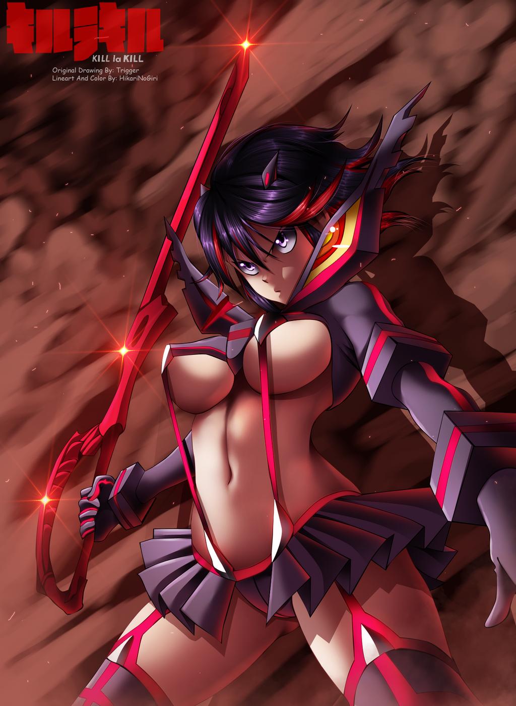 Kill La Kill - Ryuko by HikariNoGiri