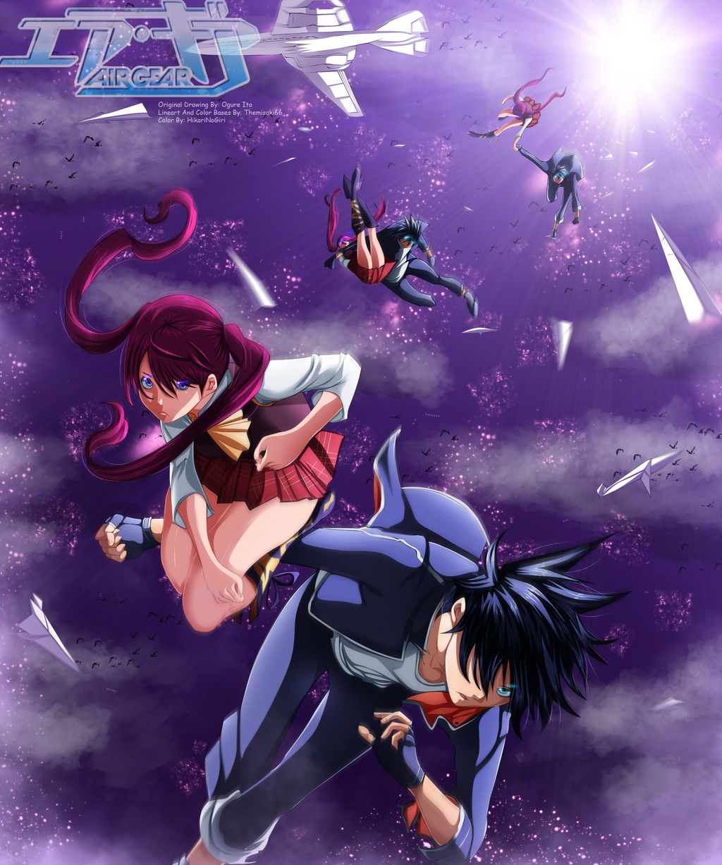 air gear ikki and ringo relationship help