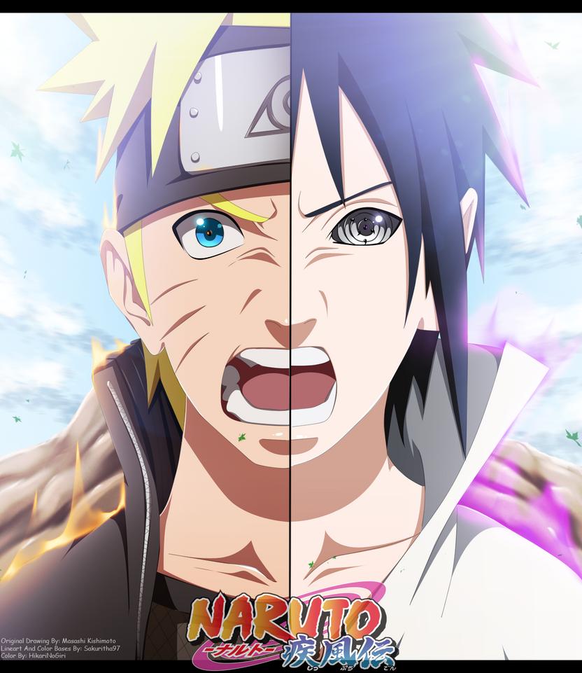 Naruto 695 Cover by HikariNoGiri