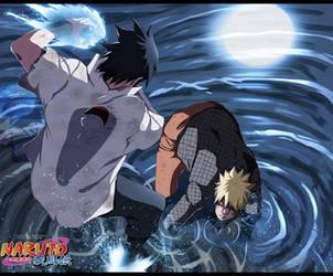 Naruto 697 - Goodbye my friend by HikariNoGiri
