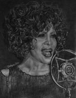 Whitney Houston by brailynne