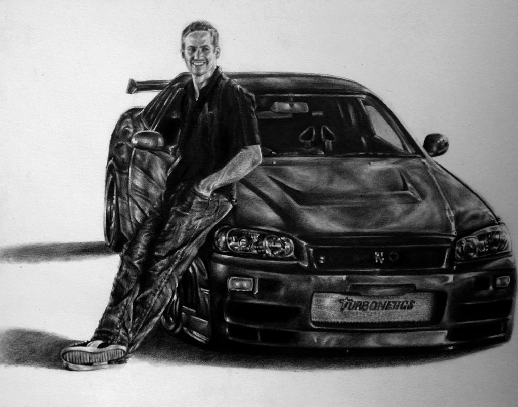 paul walkers nissan skyline drawing] - 28 images - the gallery for ...