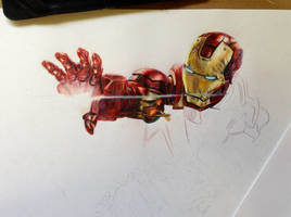 Iron Man WIP by brailynne
