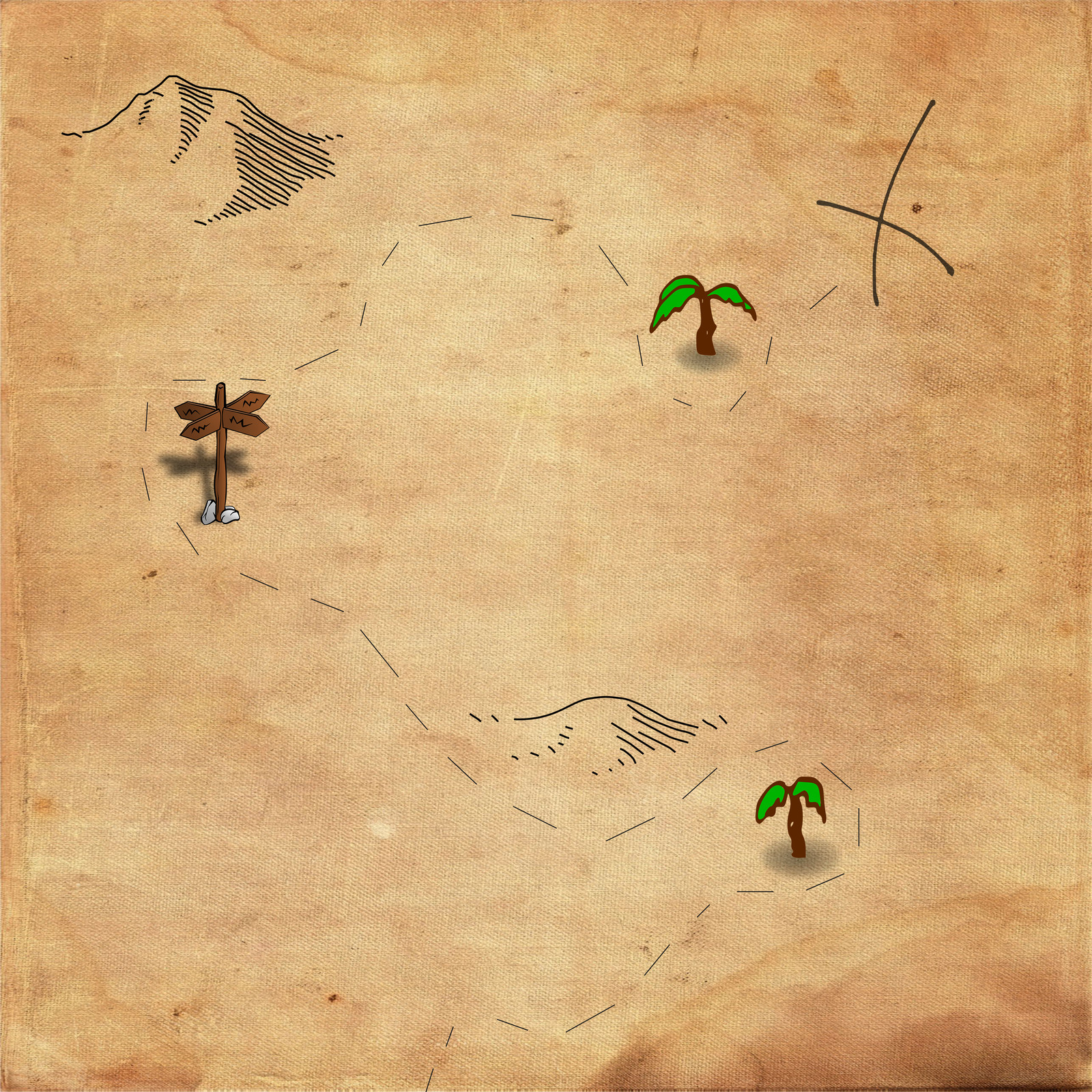 Free Treasure Map Background by nuugraphics on DeviantArt