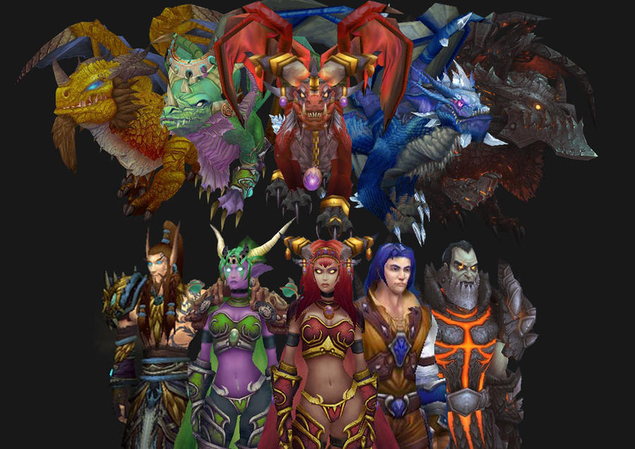 Artistic Aspects : Wow the dragon aspects by ereptile on deviantart