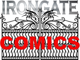 Iron Gate Comics Logo by lockett730