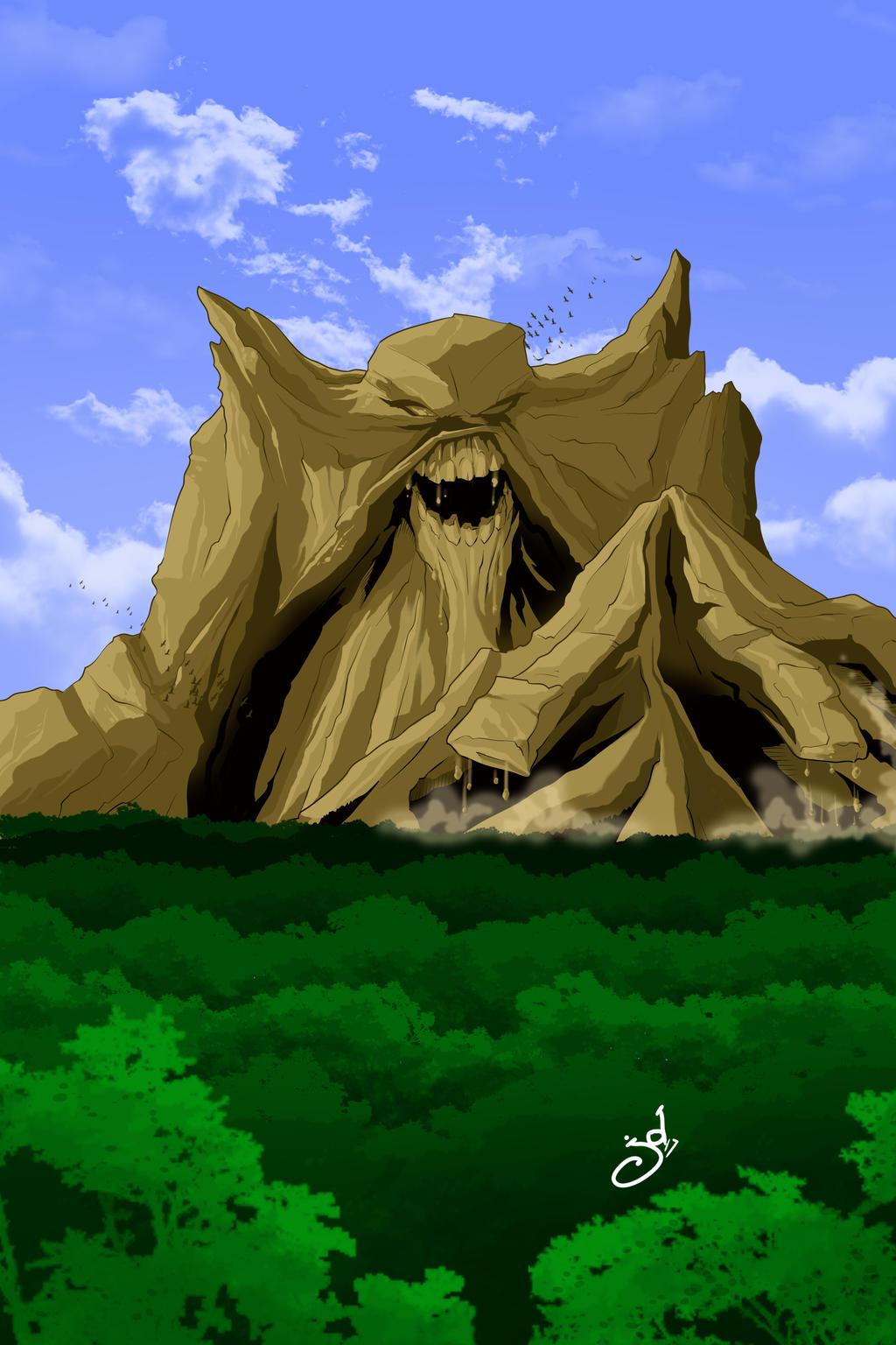 Monsor the Living Mountain