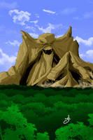 Monsor the Living Mountain by lockett730
