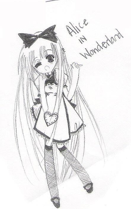 Alice in Wonderland chibi by mslckitty on DeviantArt